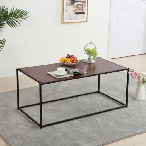 Stylish Collection Coffee Table Living Room Furniture Brown