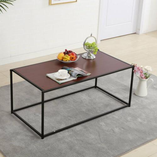 Stylish Coffee Table Living Furniture Brown