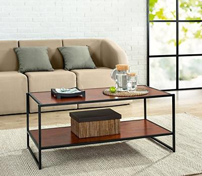 troy modern studio collection deluxe rectangular coffee