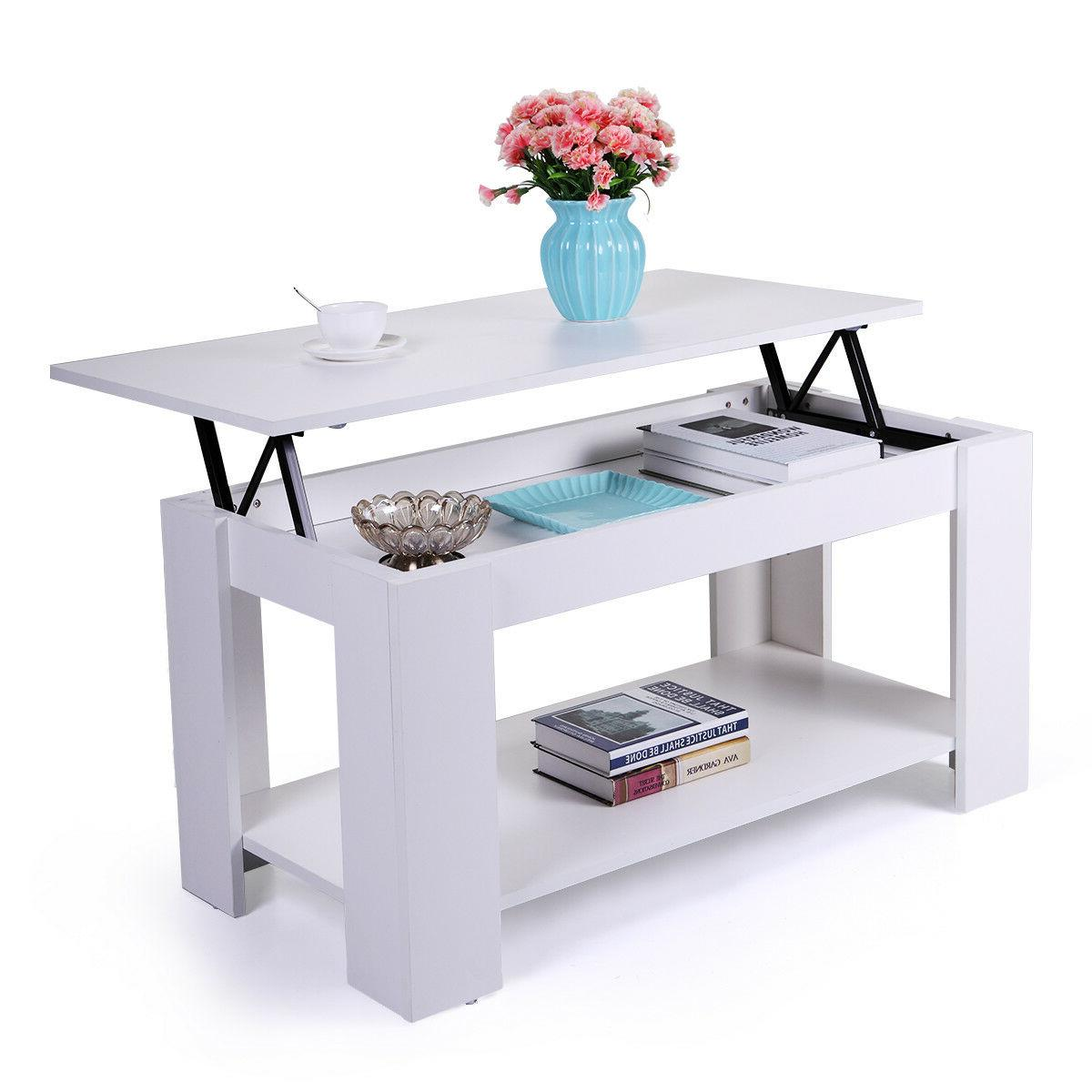 Wood Top Table Space White Furniture