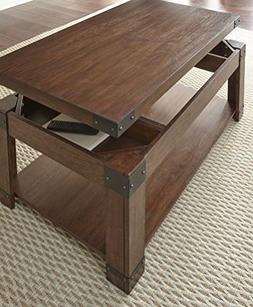 Steve Silver 48 in. Lift Top Cocktail Table with Casters