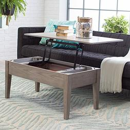 Coffee Tables  Lift Top Rectangle Wood Cocktail Living Room