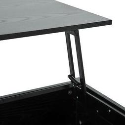 "HOMCOM 39"" Modern Lift Top Coffee Table Desk with Storage -"