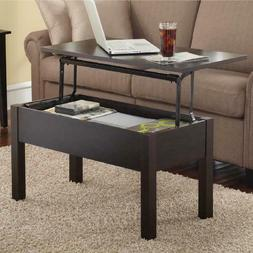 lift top coffee table black home furniture