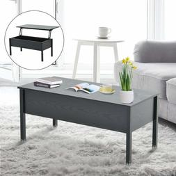 Lift Top Coffee Table Storage Living Room Dining Room