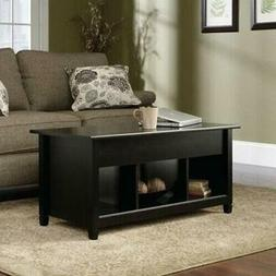 Lift-up Top Coffee Table w/Hidden Storage Compartment & Shel