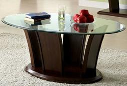 247SHOPATHOME IDF-4104C Coffee-Tables, Cherry
