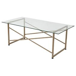 Flash Furniture Mar Vista Collection Glass Coffee Table with