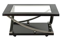 Standard Furniture Melrose Square Cocktail Table with Glass