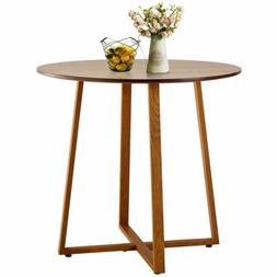 Modern Kitchen Dining Table Round Solid Wood Coffee Table Ho