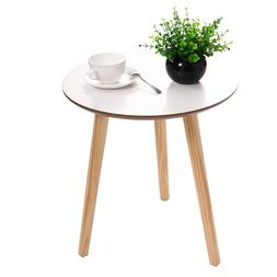Modern Round Coffee Tea Table Wood Furniture Home Decor  Sof