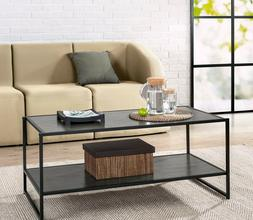Zinus Troy Modern Studio Collection Deluxe Rectangular Coffe