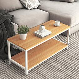 "Soges Modern End Table 40"" Coffee Table TV Stand Side Table"