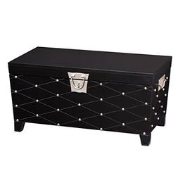 nailhead cocktail table trunk