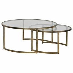 Uttermost 2-Pc Nested Coffee Table Set