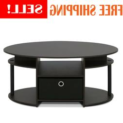 New Modern Coffee Wood Table Living Room Bedroom With Drawer