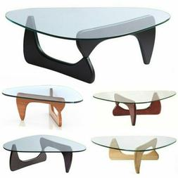 Noguchi Tribeca Coffee Table Tempered Glass : Available in M
