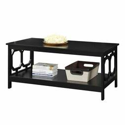 Convenience Concepts Omega Coffee Table Black