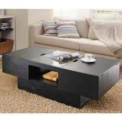 247SHOPATHOME YNJ-906-1 Coffee-Tables, Black