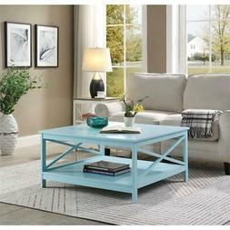 "Convenience Concepts Oxford 36"" Square Coffee Table"