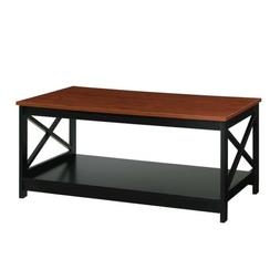 Convenience Concepts Oxford Coffee Table, Cherry, Cherry