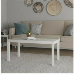 Mainstays Parsons Coffee Table, Multiple Colors - White
