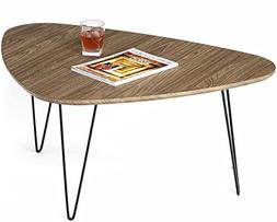 Mango Steam Saratoga Coffee Table - Mocha Brown - Wood Textu