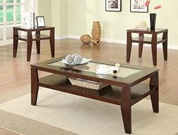 Brand New 3-pk Scott Coffee Table and End Tables Cocktail es