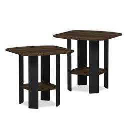 set of 2 accent side table sofa
