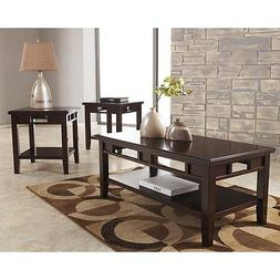Signature Design by Ashley Logan 3 Piece Occasional Table Se