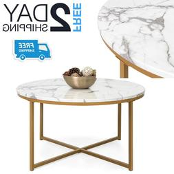 Small Round Coffee Table For Living Room Oval Modern White F