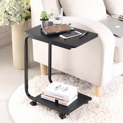 Sofa Bed Snack Side End Coffee Table Laptop Lap PC Desk & Wh