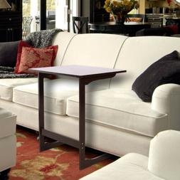 Sofa Table Tray Laptop Desk Removable Console Side Snack End