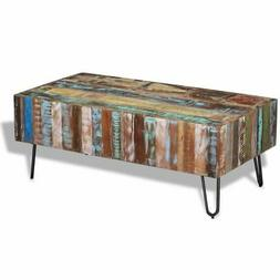 """Coffee Table Solid Reclaimed Wood 39.4""""x19.7""""x15"""""""