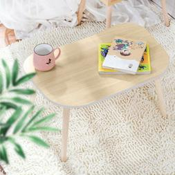 Solid Wood Coffee Table Tea Sofa Side Table Living Room Furn