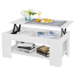 Space Lift Top Coffee Table Hidden Compartment and Storage S