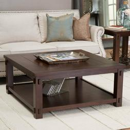Square Coffee Table Modern Large Living Room Furniture Spaci