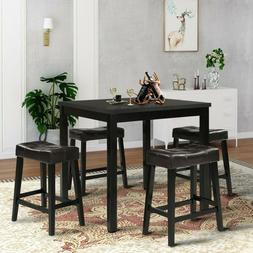 Square Dining Table End Bedside Coffee Tea Kitchen Home Furn