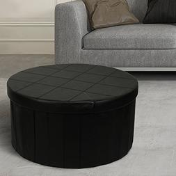 """Otto & Ben 30"""" Storage Coffee Table with Smart Lift Top Fold"""