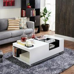 Furniture of America Sydney Coffee Table in White