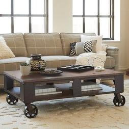 Magnussen T1755 Pinebrook Wood Rectangular Coffee Table with