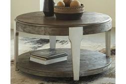 t453 8 brenzington coffee table grayish brown