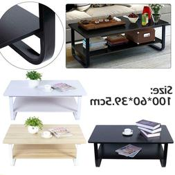 Tea Coffee Table Side Desk Space Wood Furniture EndSofa Side