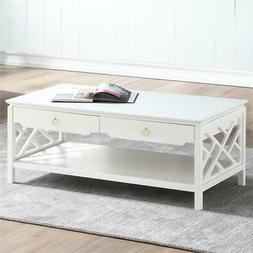 Thomas White Wood Chippendale-style Coffee Table