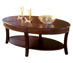 Steve Silver Troy 48x28 Cocktail Table in Rich Cherry
