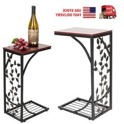 us 11x7x20inch iron side coffee table home