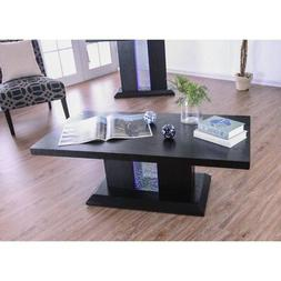 Furniture of America Welles LED Coffee Table