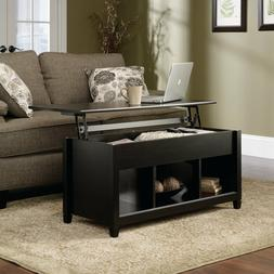 Wood Lift-top Coffee Table End Table with Storage Space Furn