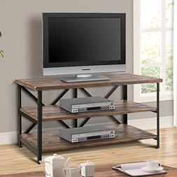 Harper & Bright Designs Wood TV Stand Cabinet Entertainment
